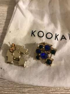 CHEAP Kookaï gold earrings brand new