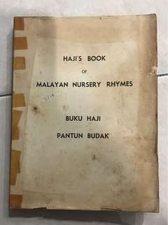 Malayan Nursery Rhymes Book