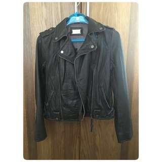 Leather jacket (Dark Brown)