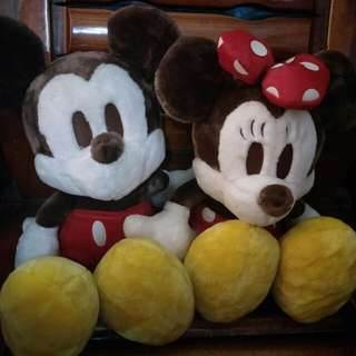 Mickey and Miney Mouse(Pair)