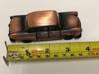 Bronze Miniature antique/ vintage Car with pencil sharpener