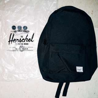[Authentic] Herschel Bag Classic Backpack (Black)