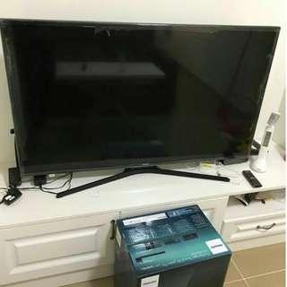 三星Samsung 50寸6300系列平板智能電視 幾乎全新