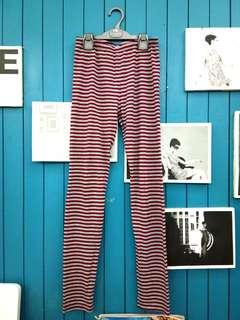 Stripe legging (teens). Cool for layering!
