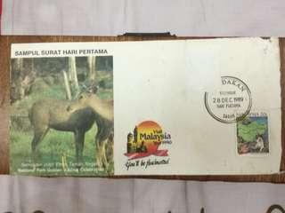 Setem Sambutan Jubli Emas Taman Negara 1989
