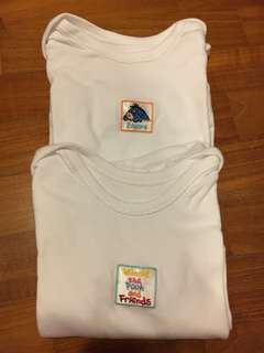 Mothercare Disney Short sleeved Bodysuits