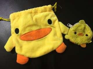黃色袋仔1set