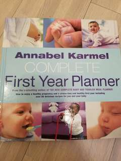 Annabel Karmel First Year Planner 80 Recipes Book