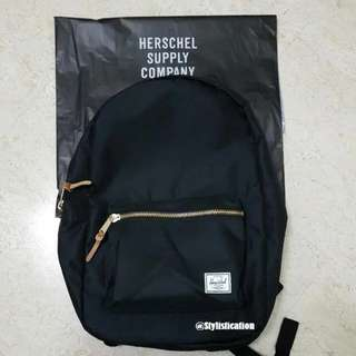 [AUTHENTIC] Herschel Bag Settlement Backpack (Black)