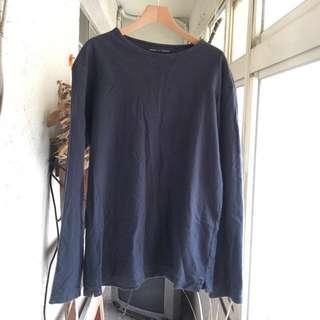 🉐️ 日本🇯🇵 / 二手 le maire x uniqlo 絕版 聯名 深藍色 衛衣