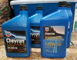 Chevron Motor Oil Bundle