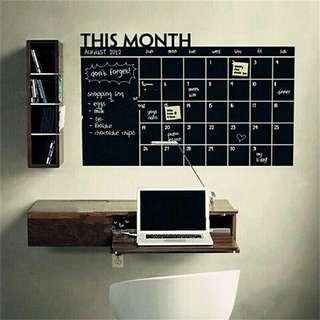 Wall sticker vinyl papan tulis