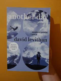 Another Day book (david levithan)