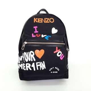 Kenzo I Love You Backpack