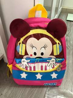 Kid backpack minnie mouse