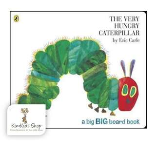 (Big Board Book Edition) The Very Hungry Caterpillar