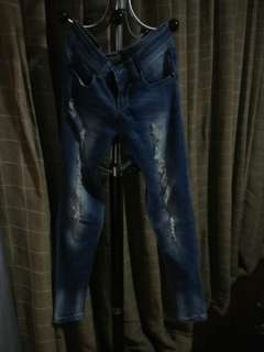 Ripped Maong Pants