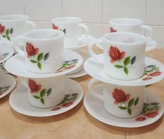 vintage Wexford Creation Sweet Heart tea set