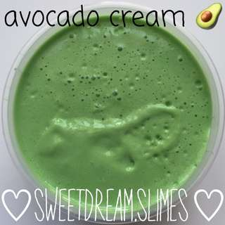 Avocado Cream (butter slime)