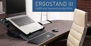 Ergostand III - ergonomic laptop colling pad