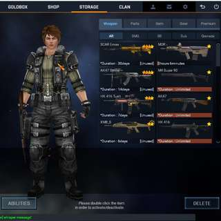 Blackshot SEA Account