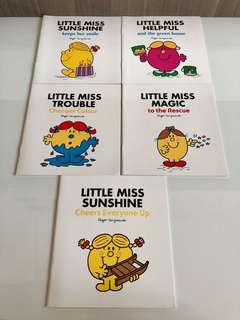 5 Little Miss Books