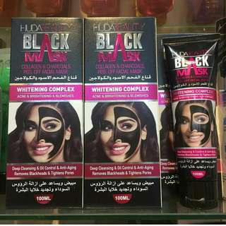 Huda black mask (inspired)