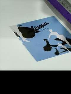 Magnet VESPA poster