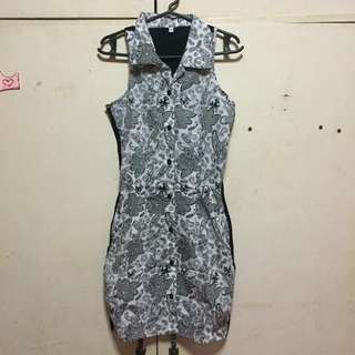 Paisley Collared Dress