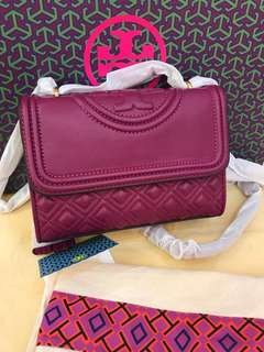 (Ready Stock) Original Tory Burch women fleming Convertible satchel
