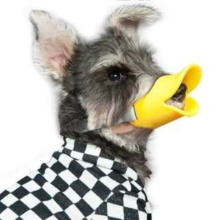 Silicone Dog Muzzle Duck Bill (Large)
