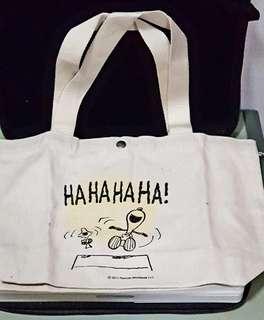 🚚 手提包【Snoopy 日系麻布】