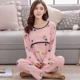 Pajamas pyjamas sleepwear cute maternity pyjamas nursing breastfeeding pyjamas sleepwear baju mengandung pregnant dress pregnant pyjamas pregnant pajamas maternity pajamas maternity pyjamas baju mengandung