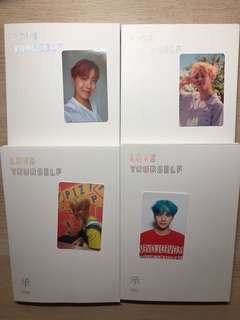 BTS love yourself: her albums with photocards