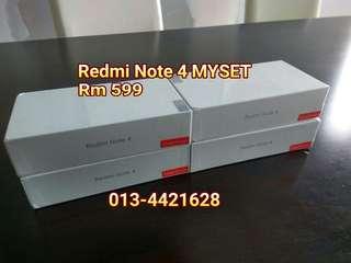 Redmi Note 4 (3gb +32gb MALAYSIA SET)