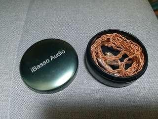 ibasso 4N 單晶銅升级線 (mmcx 頭)