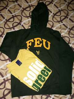 Feu jacket and shirt