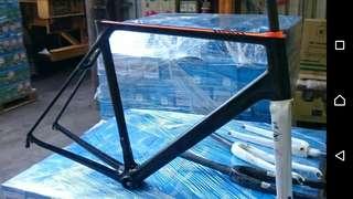 碳纖維單車架