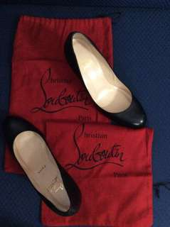 Authentic Christian Louboutin Black Heels shoes