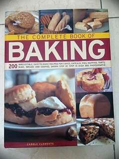 The Complete Book of BAKING by Carole Clements / Hermes House