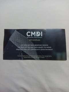 Voucher - CDMI Menswear