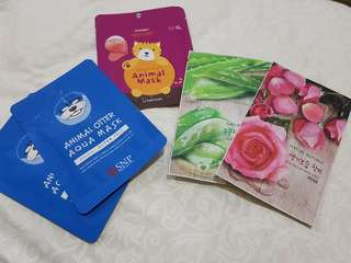 Take all: Masker Animal Korea, Masker Nature Republic