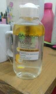 Garnier micellar oil infused water