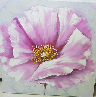 Painting of Flower 70cm by 70cm