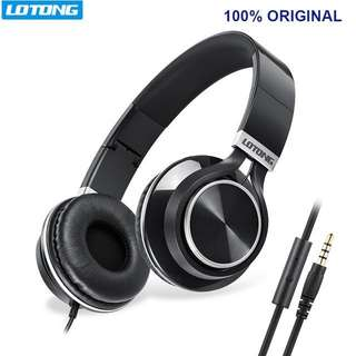 Foldable Headset Earphone Headphones With Microphone for Computer PC Aux Head Phone Set