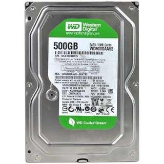 WESTERN DIGITAL CAVIAR GREEN 500GB