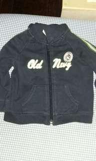 Old navy hoodie 6-12M w/ signs of usage
