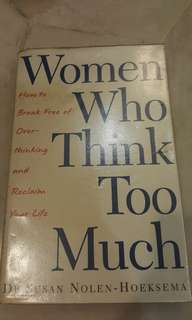 Women who think too much - Dr Susan Nolen-Hoeksema