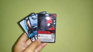 Star Wars force battle card