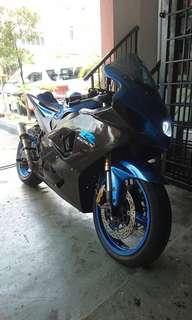 Suzuki gsxr1000 K4 trek bike